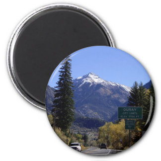 Ouray, Colorado 2 Inch Round Magnet