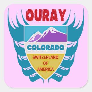 Ouray, Colorado Square Sticker