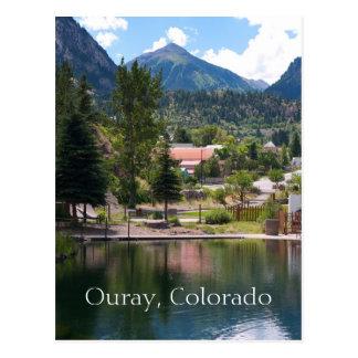 Ouray, Colorado Travel Postcard