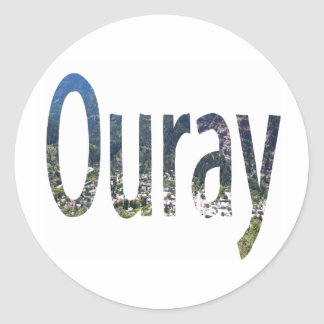 Ouray Sticker