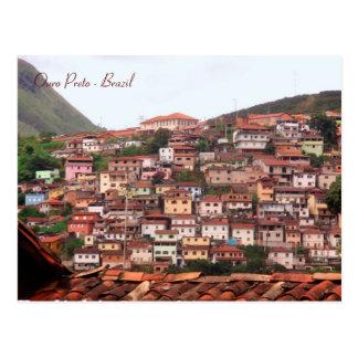 Ouro Preto, Minas Gerais, Brazil Postcard