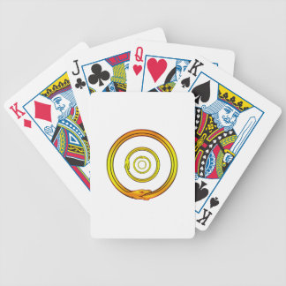 Ouroboros Bicycle Playing Cards