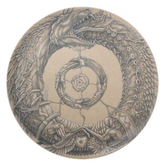 Ouroboros plate