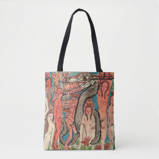 Ourobouric Echoes TOTE BAG