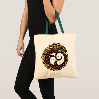 OUROBOUS /Green  handler (tote bag) Tote Bag