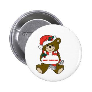 Ours de Noël heureux