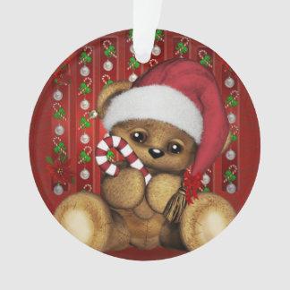 Ours de nounours de Père Noël avec du sucre de