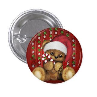Ours de nounours de Père Noël avec du sucre de Pin's