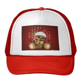 Ours de nounours de Père Noël avec du sucre de Casquette De Camionneur