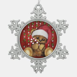 Ours de nounours de Père Noël avec du sucre de Ornements