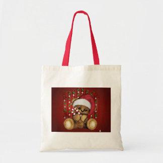 Ours de nounours de Père Noël avec du sucre de Sac