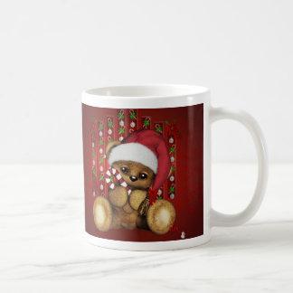 Ours de nounours de Père Noël avec du sucre de Tasse À Café