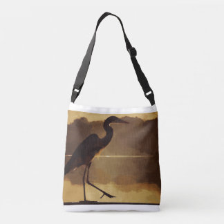 """""""Out and About"""" all-over-print cross body tote"""