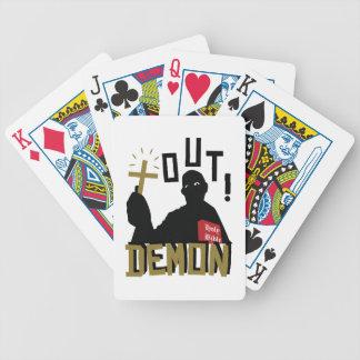 Out Demon Poker Deck