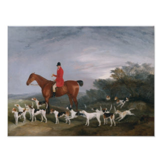 Out Hunting, 1841 Poster