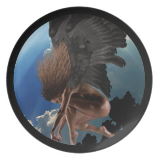 Out of Heaven Angel Plate