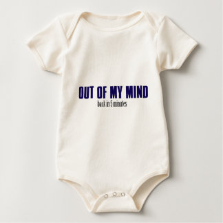 Out of my mind baby bodysuit