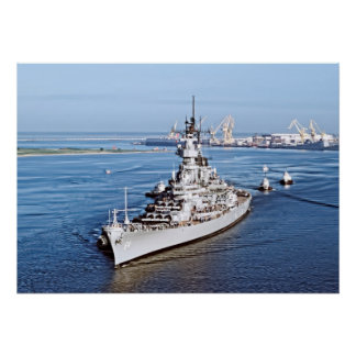 Out of Retirement:  Battleship Wisconsin Poster