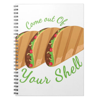 Out Of Shell Notebook