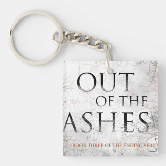 OUT OF THE ASHES keychain