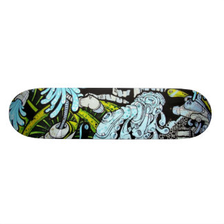 Out-of-the-City Skateboard Deck