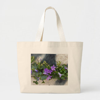 out of the wall flower large tote bag