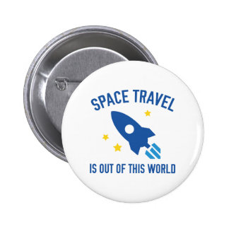 Out Of This World 2 Inch Round Button