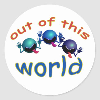 Out of this World Aliens Teacher Grading Stickers