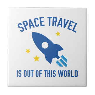 Out Of This World Ceramic Tile
