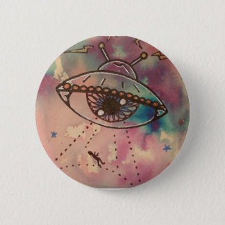 Out of this world ufo abduction pin