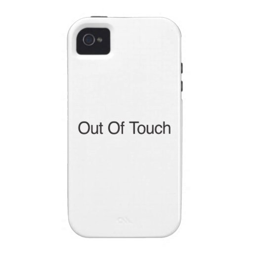 Out Of Touch Case For The iPhone 4