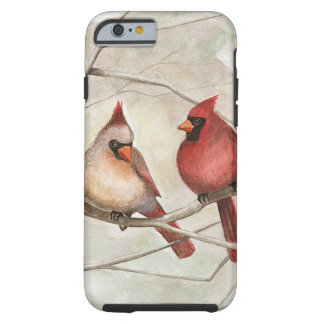 """Out on a Limb"" Cardinal iPhone Case"