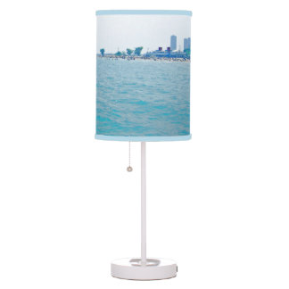 Out on the Lake Bluish-Green hues Desk Lamps