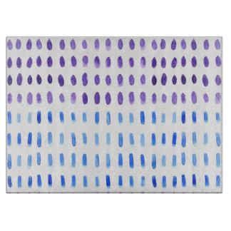 Out & Out Watercolour Glass Chopping Board