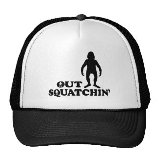 OUT SQUATCHIN - With Figure - Hat
