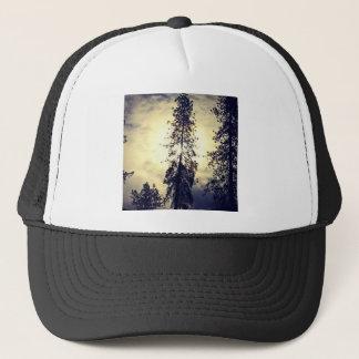 Out the kitchen window trucker hat