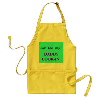 Out The Way!, DADDYCOOK-IN! Standard Apron