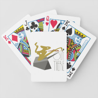 Out There Landscape Bicycle Playing Cards