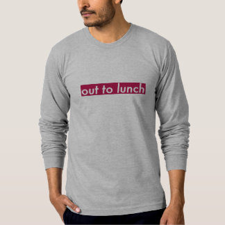 Out To Lunch - Long sleeve tee