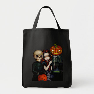 Out Trick-Or-Treating Halloween Bag
