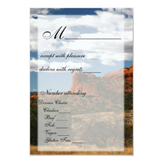 Out West RSVP Card