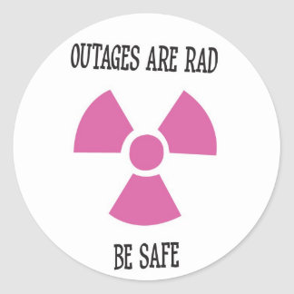 Outages are Rad Stickers