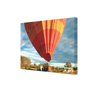 Outback hot air balloon, Australia Canvas Print