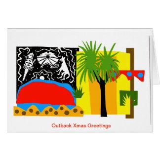 Outback - Uluru - Australian Xmas Cards