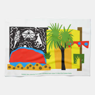 Outback Uluru- Kitchen Towel