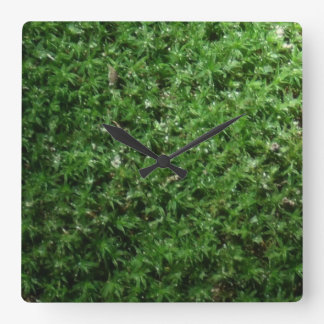 Outdoor Botanical Green Ground Moss Nature Clock