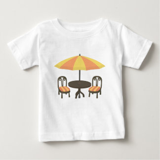 Outdoor Cafe Seating Baby T-Shirt