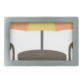 Outdoor Cafe Seating Belt Buckle