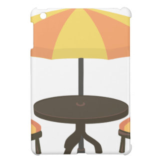 Outdoor Cafe Seating Case For The iPad Mini