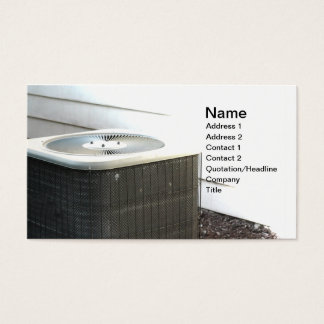 outdoor central air conditioner unit business card